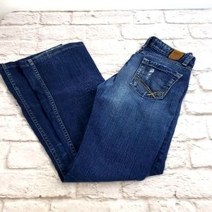 BKE Starlite Stretch Boot-cut Jeans size 27